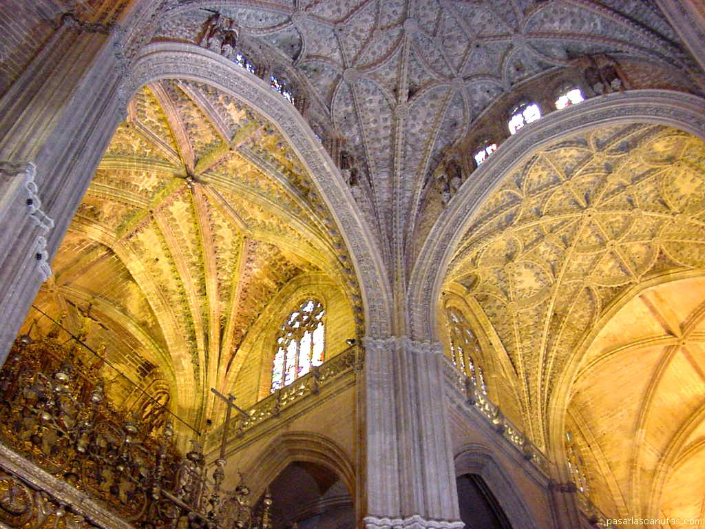 Fotos de sevilla - Catedral de sevilla interior ...