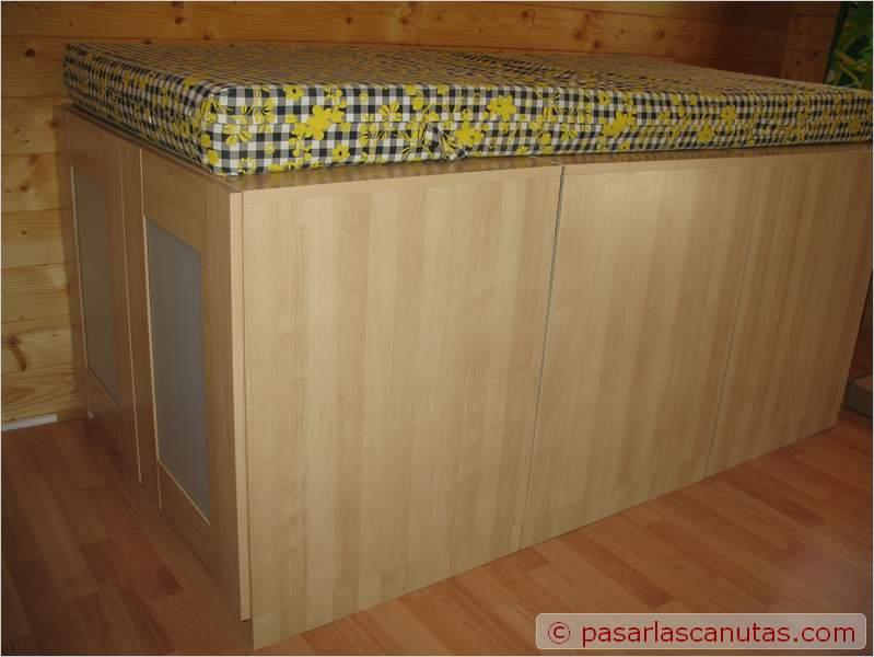 Bricolaje de una cama armario - Armario una puerta ...
