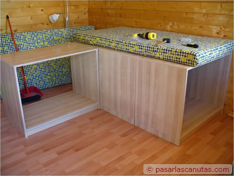 Construye tu cama armario con t taringa - Cama armario debajo ...