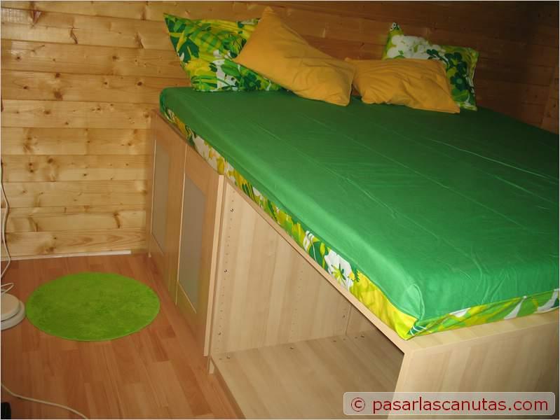 Bricolaje de una cama armario - Cama sobre armario ...