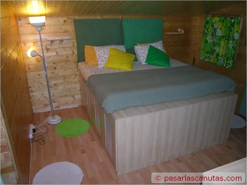 Bricolaje de una cama armario for Bricolaje en madera gratis