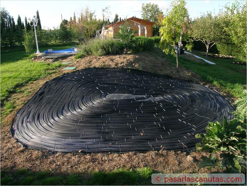 Bricolaje avanzado instalaci n experimental de agua for Como construir una alberca casera