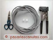 Cómo construir un cable cruzado UTP de red LAN