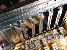 montar un pc - foto de huecos de salidas traseras de caja torre ATX -