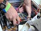 foto de montaje de un pc, instalar disipador