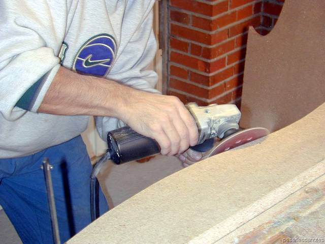 Carpinteria 5 - Como lijar madera ...