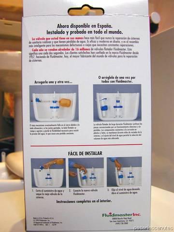Fontaner a instalaci n o cambio sustituci n de una for Como arreglar una cisterna de doble carga