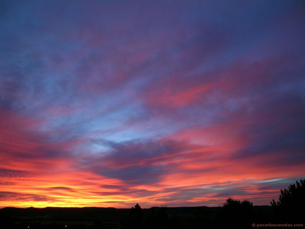 ... rosas y paisajes > fotos de paisajes de amaneceres en Serracines