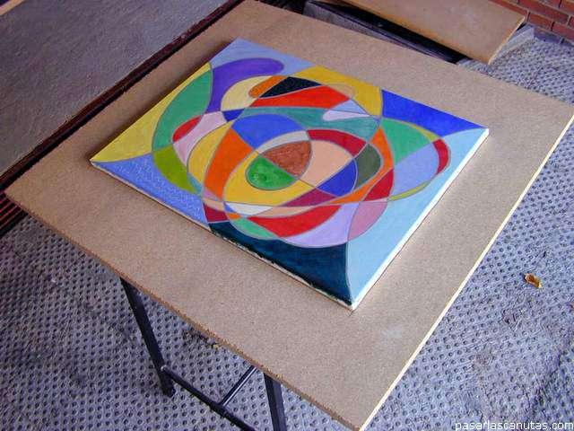 Diseño, construcción, coloreado y barnizado de un marco de ...