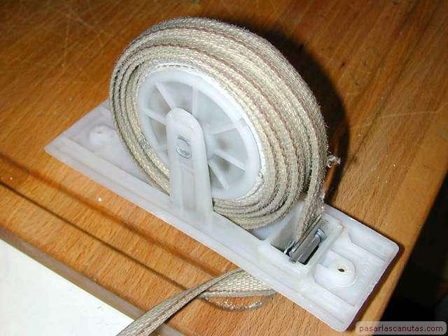Cambiar correa de persiana taringa - Cambiar cinta de persiana ...