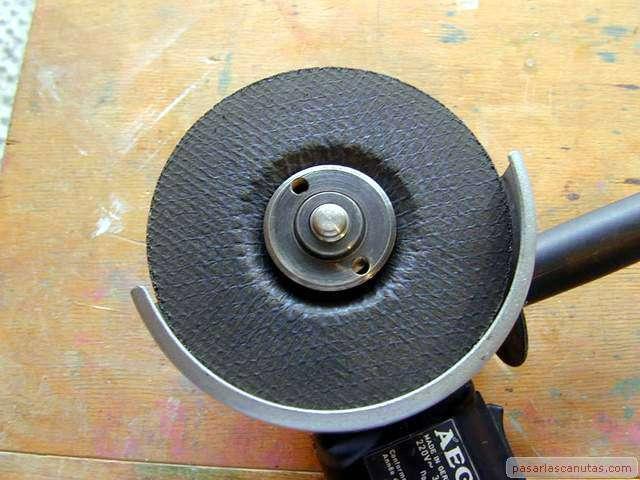 La radial o amoladora angular m quinas de bricolaje - Disco madera amoladora ...